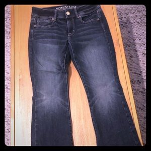 AE Women's SIZE 4 SHORT bootcut jeans